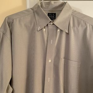 Joseph A Bank Button Down Dress Shirt